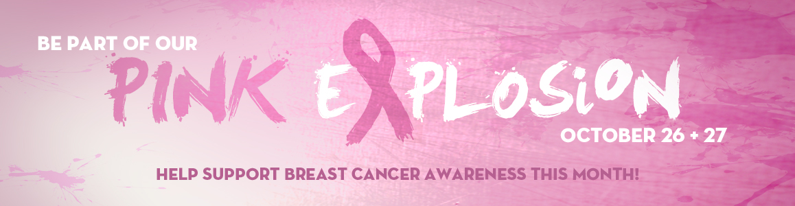 Help Us Suport Breast Cancer Awareness This Month!