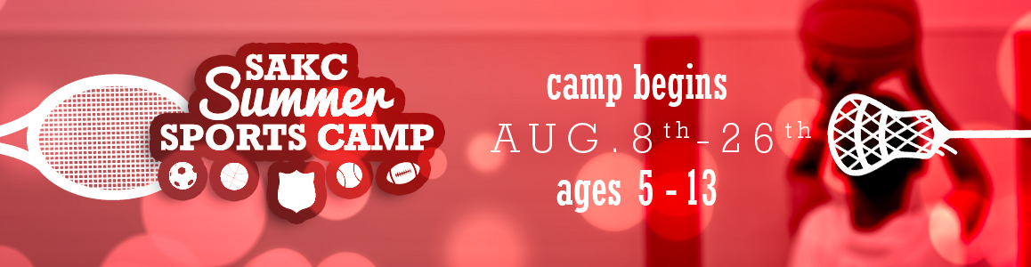Our Annual Sports Camp Begins as our Day Camp Ends! August 8 - 26!