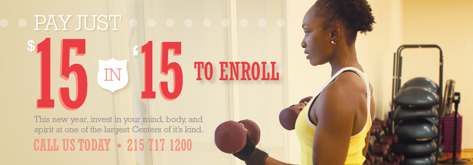 Just $15 to Enroll all January long!!