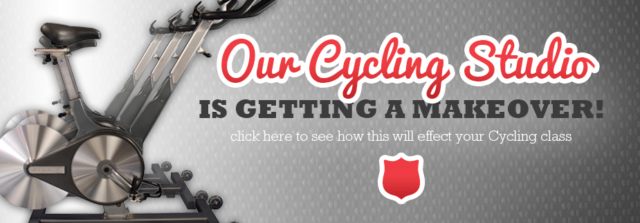 Check with a Fitness Specialist if you have any questions on Cycling classes 5/1 - 5/5