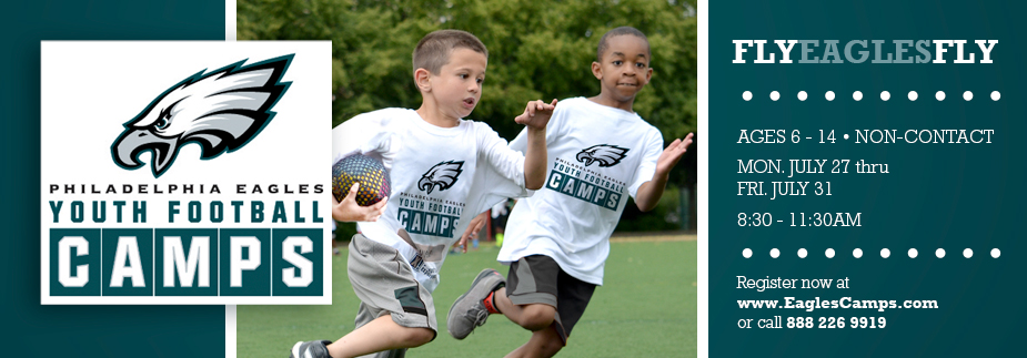 Sign-ups Open for the Summer Eagles Youth Camp July 27th!