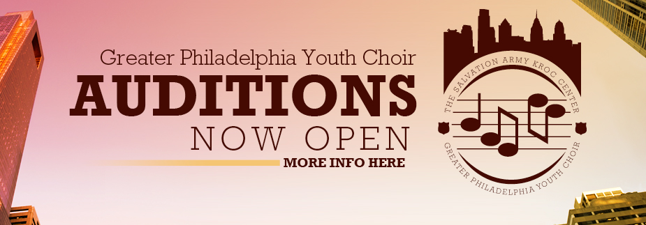 Auditions Now Open for the Greater Philadelphia Youth Choir!