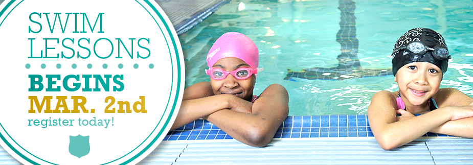 Swim Lessons Return - March 2nd.  Sign Up Today!