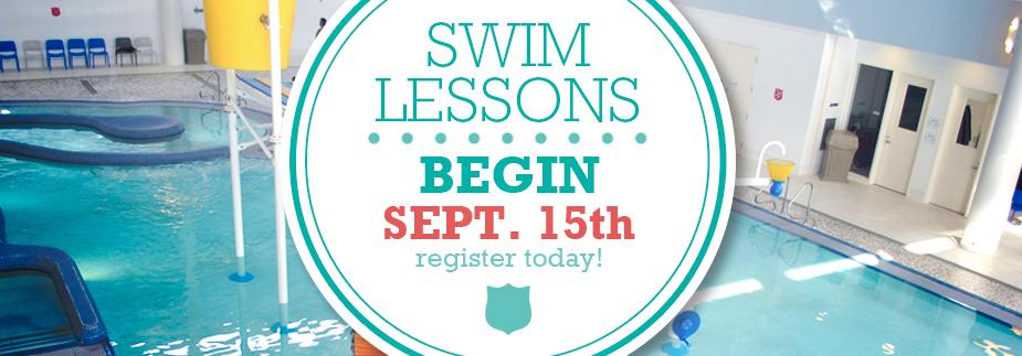 Swim Lesson Registration Now Open - Lessons Begin September 15th!